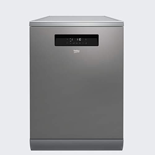 , Tocar, LCD, Caj/ón Beko DFN38530X lavavajilla Independiente 15 cubiertos A+++ Independiente, Acero inoxidable, Tama/ño completo 60 cm Lavavajillas