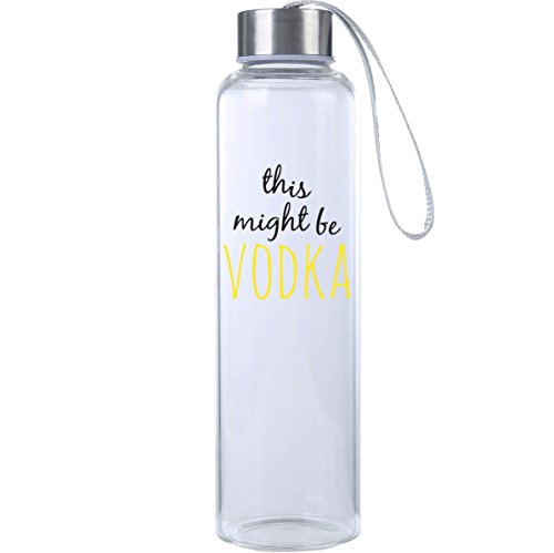 Mad 2 Order Inspirational Fitness Water Bottle, Workout Glas
