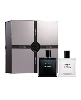 7bf3204cf3a Amazon.com   Bleu de Chanel Boldly Unexpected Gift Set for Men (3.4 FL OZ  EDT Spray and After Shave Lotion)   Fragrance Sets   Beauty