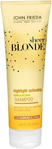 John Frieda Sheer Blonde Highlight Activating Brightening Shampoo Darker Blondes, 8.45 oz (Pack of 2) ()