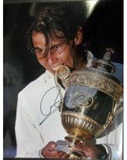 signé Nadal, Rafael 11x 14Photo. autographe