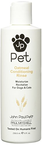 Oatmeal Conditioning Rinse (JOHN PAUL PRODUCTS Pet Oatmeal Conditioning Rinse, 8 oz.)
