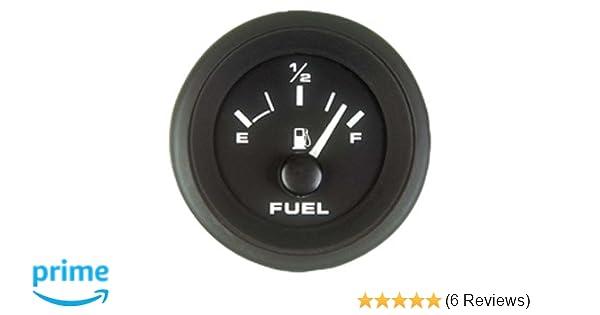 Sierra International 62718P Fuel Gauge - Black Premier Pro 2