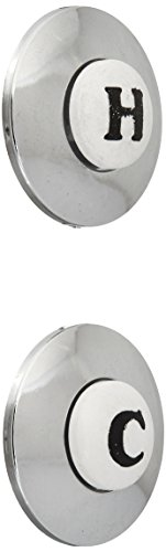 American Standard 042628-0020A CROSS HDL INDEX BUTTONS Polished Chrome