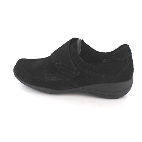 WaldläuferK01304-309001 - de cordones Mujer negro