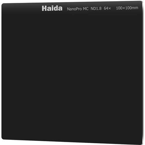 Haida NanoPro MC 100mm ND64 Filter Optical Glass Neutral Density ND1.8 6 Stop 100 Cokin Z Compatible by Haida