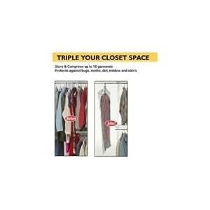Amazon Com Space Bag Itw Wbr 7505 Vacuum Seal Storage
