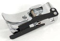 1/4 In. Seam Foot for All Snap-on Singer*, Brother, Babylock, Euro-pro, Kenmore, White, Juki, etc