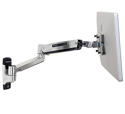 Ergotron LX HD Sit-Stand Wall Mount LCD Arm - Wall Mount