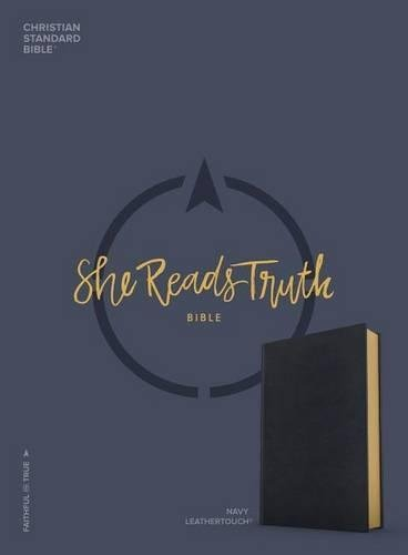 CSB She Reads Truth Bible, Navy LeatherTouch PDF