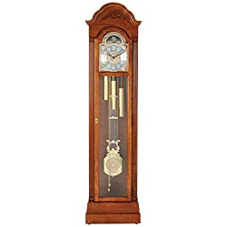 Howard Miller Hartford Floor Standing Grandfather Clock, Legacy Oak