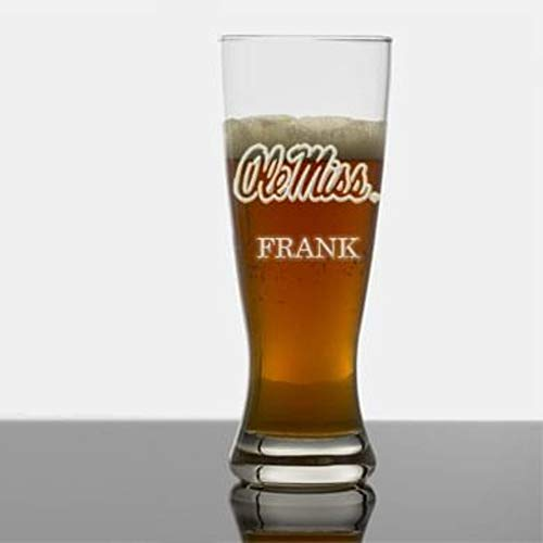 Ole Miss Tall 20oz Pilsner Glasses - Set of 2 by ()