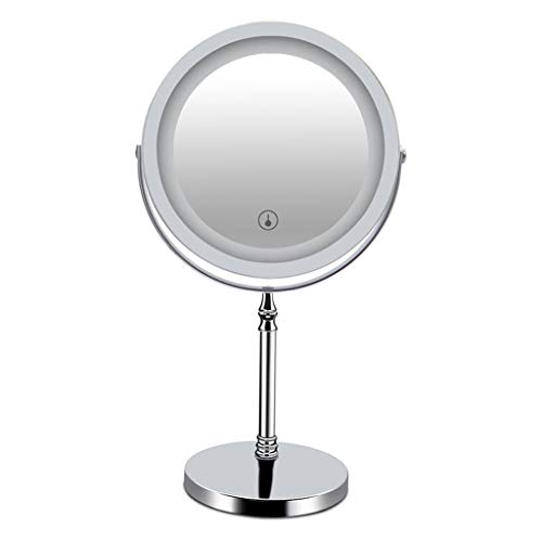 ZXXX Lights Lighted Makeup Mirror with Led Vanity Mirror 10x Magnifying Magnified Double Sided Makeup Mirror Adjustable