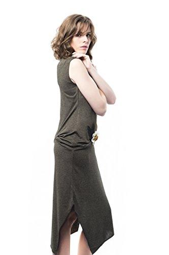 Mamatayoe Green 013 Genista Vigore Grün Damen Kleid Tq7rT