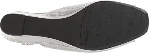 cheap sneakernews J.Renee Alivia Women's Sandal Silver Metallic cheap comfortable WzWpZym1