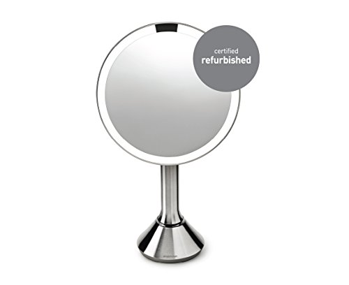 simplehuman-Sensor-Mirror--Sensor-Activated-Lighted-Makeup-Mirror