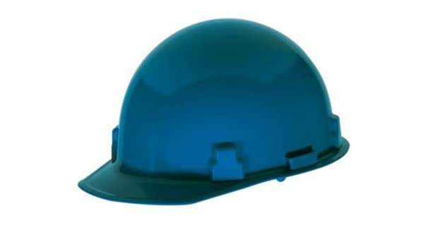 Orange MSA 486967 Thermalgard Glass-Reinforced Nylon Protective Cap with 1-Touch Suspension