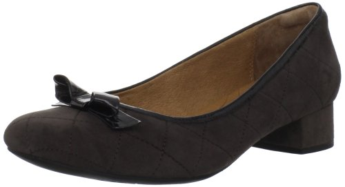 - CLARKS Women's Charmed Bow Pump,Charcoal,9.5 M US
