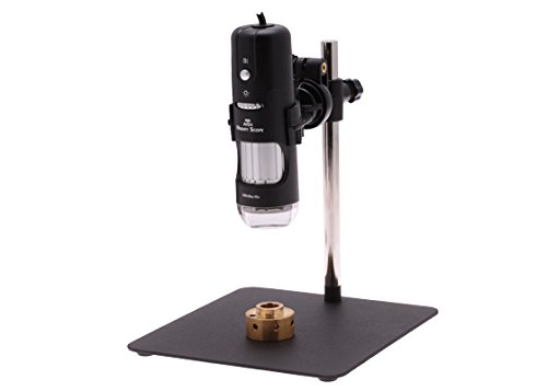 Aven 26700-207 Digital Handheld Microscope, 10x-200x Magnification, Near-Infrared LED Illumination, With Stand, Includes 5MP Camera by Aven