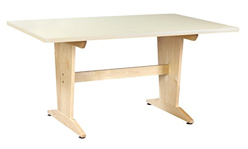 (Diversified Woodcrafts PT-62P26 Table, Planning, Laminated, 26