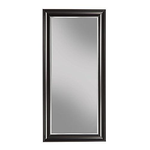Ordinaire Sandberg Furniture Black Full Length Leaner Mirror