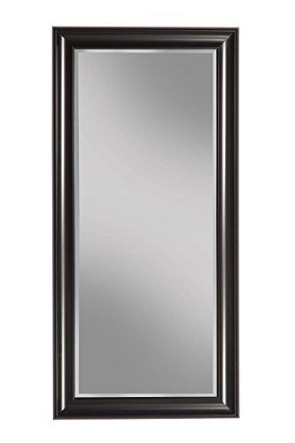 Sandberg Furniture Black Full Length Leaner Mirror