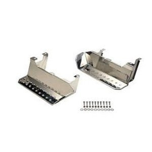 Kentrol Stainless Steel Side Step Pair 1976-1995 Jeep CJ5, CJ7, CJ8, Wrangler (Cj5 Entry)