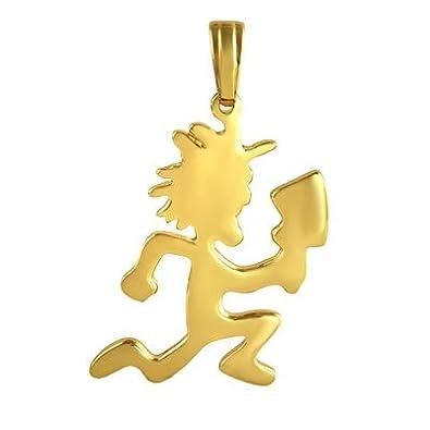 Official icp lg gold hatchetman pendant 30 chain 866g amazon official icp lg gold hatchetman pendant 30quot chain 866g aloadofball Gallery