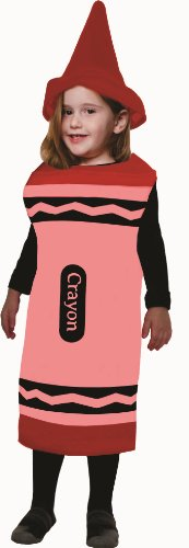 Red Crayon, Size Medium -