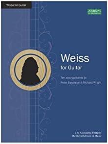 Silvius Leopold Weiss: Weiss For Guitar. Partituras para Guitarra ...