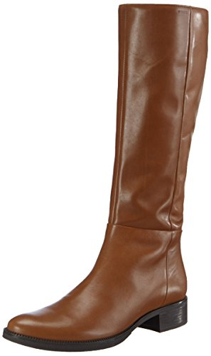 Geox Donna Mendi Stivali P, Women's Ankle Riding Boots - Brown (Brownc0013), 2.5 UK (35 EU) Brown (Brownc0013)