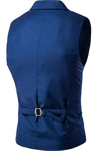 Homme 1 Blazer Fit Mode Hommes Sans Brand La Couleur Slim Élégante De Gilet Veste Mariage Pour qxw4fHT4X