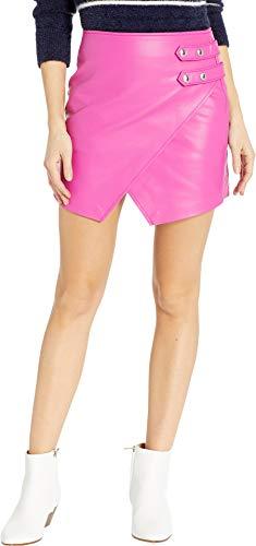 [BLANKNYC] Blank NYC Women's Vegan Leather Mini Skirt w/Side Buckle Girls Night Out 28
