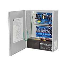Altronix ACM Series Access Power Controllers with 8 Fused Outputs Power Supply/Chargers, 12/24 VDC, 4/3 Amps (Pack of 1) (Polarity Reversal Relay)