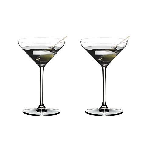 Riedel 4441/17 Extreme Martini Glass, Set of 2, Clear (Glasses Martini Cheap)