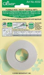 Bulk Buy: Clover Fusible Bias Tape Maker Fusible Web 40 Feet 4032C (3-Pack)