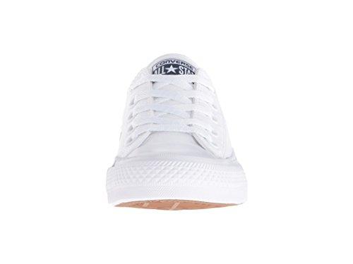 ... Converse Chuck Taylor Ii Unisex Ungdoms Barn Sneaker Optisk Hvitt