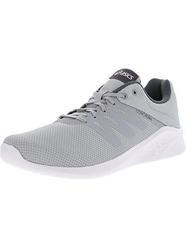 ASICS Comutora Shoe - Men's Running Mid Grey/Mid Grey/Carbon