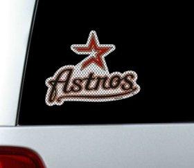 Houston Astros Die-Cut Window Film - Large