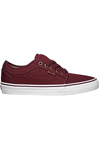 Vans CHUKKA LOW 10 OZ Canvas Port / White Skateboard Shoes-Men 9.0, Women 10.5