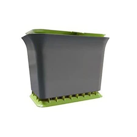Full Circle Fresh Air Compost Collector Green Slate Amazonca