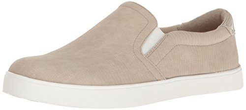 Dr. Scholl's Shoes Women's Madison Fashion Sneaker, Taupe Reptile Print, 6 M US