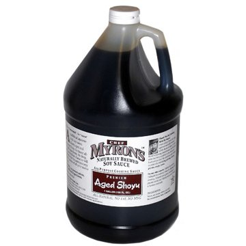 Aged Shoyu Sauce - 1 gal (Pack of 2) by Chef Myron's