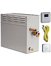 EliteSteam 12 KiloWatt Luxury Home Steam Shower System (Steam Shower Generator, Control, Steam Head, and Cable)