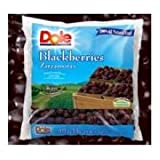 Dole Whole Individual Quick Frozen Blackberry Fruit, 5 Pound - 2 per case.