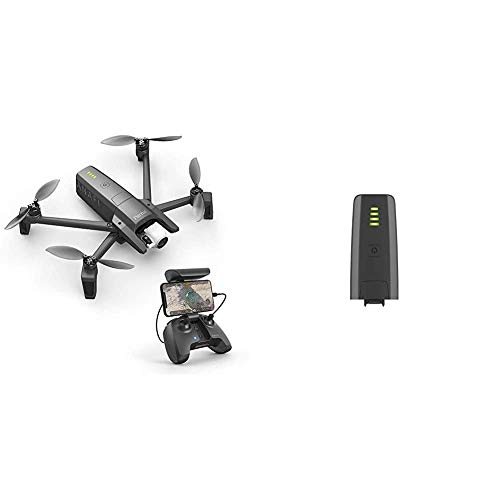 Parrot Anafi Drone – Ultra Compact Flying 4K HDR Camera, Dark Grey with Smart Battery