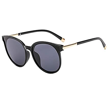 b9d16fba0fb Image Unavailable. Image not available for. Color  Kasuki Eyewear Fashion  Oval Oversized Sunglasses Women Cat Eye Glasses Ladies ...