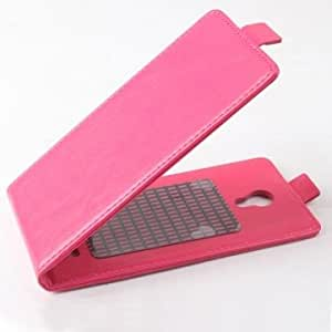 Flip PU Leather Magnetic Protective Case For Cubot P9 --- Color:Black