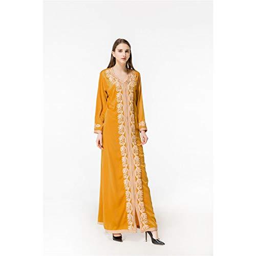 Las Una Del Moda Cuentas De Color Sólido Solos Sola Manera Cxlyq Impermeables Vestidos Yellow Mujeres La Capa Vestido Cordón f8nPZpq