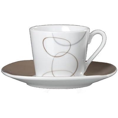 Ritzenhoff & Breker Espressotassen - Set für 6 Personen, Alina marron - Flirt